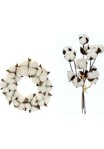 I.GE.A. Kunstkranz »Kranz/Bund« (Set, 2 Stück) kaufen