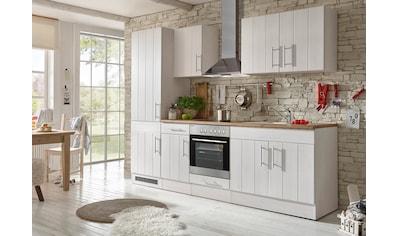RESPEKTA Küchenzeile »Ulm«, mit E-Geräten, Breite 270 cm kaufen