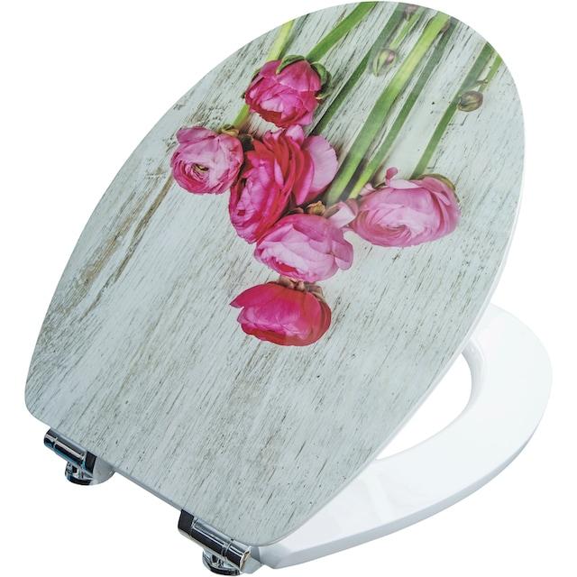 CORNAT WC-Sitz »BLUMENGRUSS«