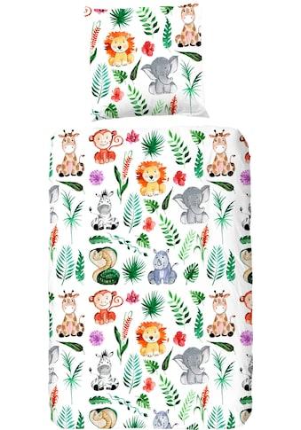 Kinderbettwäsche »Zoo«, good morning kaufen