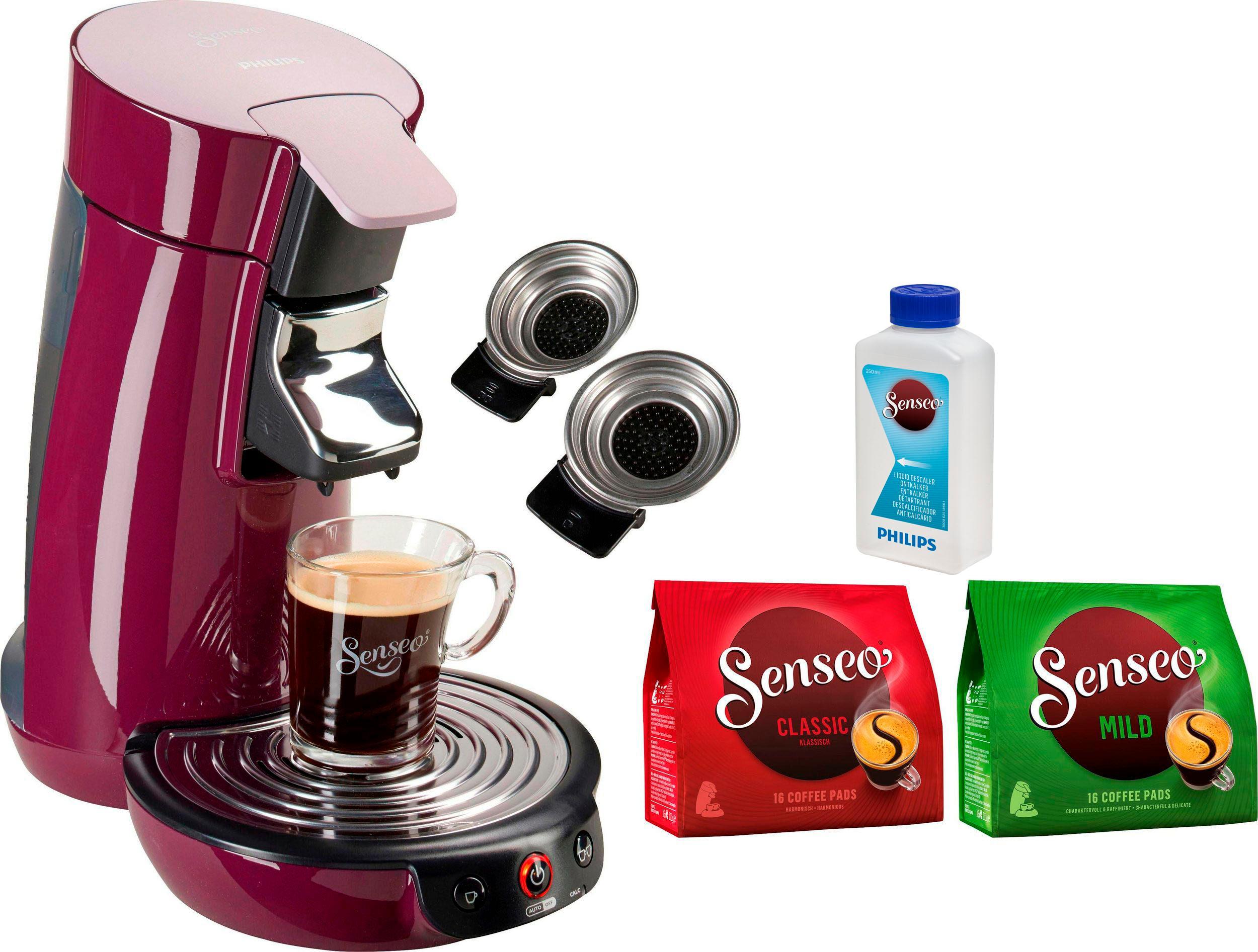 senseo kaffeepadmaschine senseo viva caf hd6563 90 auf. Black Bedroom Furniture Sets. Home Design Ideas
