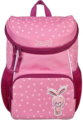 Scooli Kinderrucksack »Mini-Me, Bella Bunny«, Reflektoren kaufen