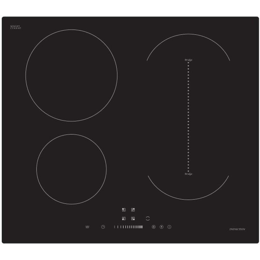 Hanseatic Induktions-Kochfeld von SCHOTT CERAN®, MC-IF7127B2C-A, mit Warmhaltefunktion