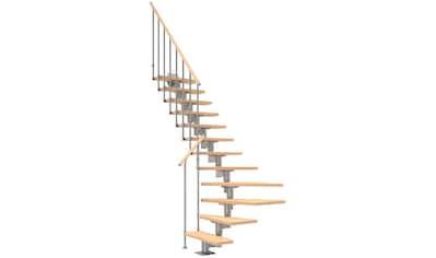 Dolle Mittelholmtreppe »Cork«, Birke, 12 Stufen, versch. Ausführungen kaufen