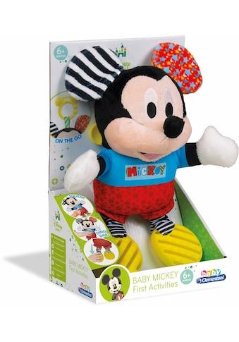 """Clementoni® Plüschfigur """"Disney Baby, Plüsch Mickey mit Beißring"""" kaufen"""