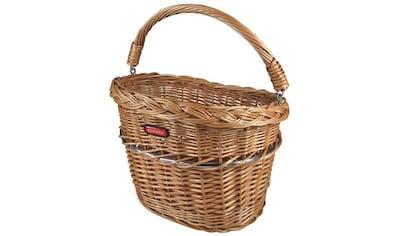 KlickFix Fahrradkorb »Vorderradkorb Weidenkorb Mini« kaufen