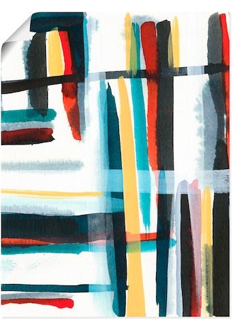 Artland Wandbild »Bücherregal I«, Muster, (1 St.), in vielen Größen & Produktarten -... kaufen
