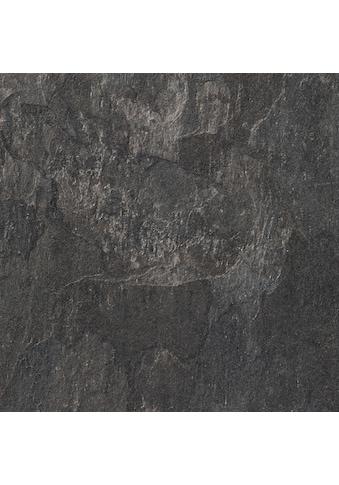 Bodenmeister Laminat »Fliesenoptik Schiefer dunkel-grau«, pflegeleicht, 60 x 30 cm... kaufen