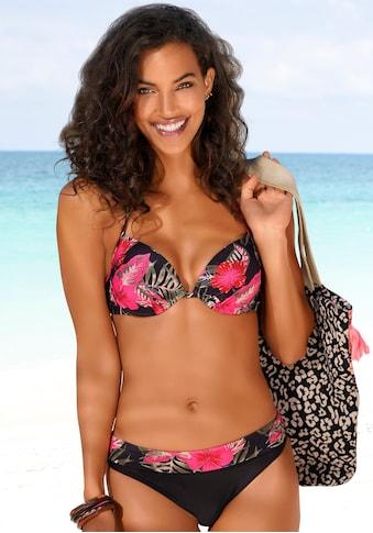 LASCANA Push-Up-Bikini-Top »Elsa«, mit floralem Druck kaufen