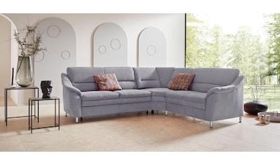 Places of Style Ecksofa »Cardoso«, mit Trapezecke für mehr Sitzkomfort, wahlweise auch mit Bettfunktion und Schublade und Relaxfunktion kaufen