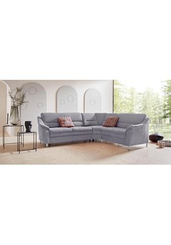 Places of Style Ecksofa »Cardoso«, mit Trapezecke für mehr Sitzkomfort, wahlweise auch... kaufen