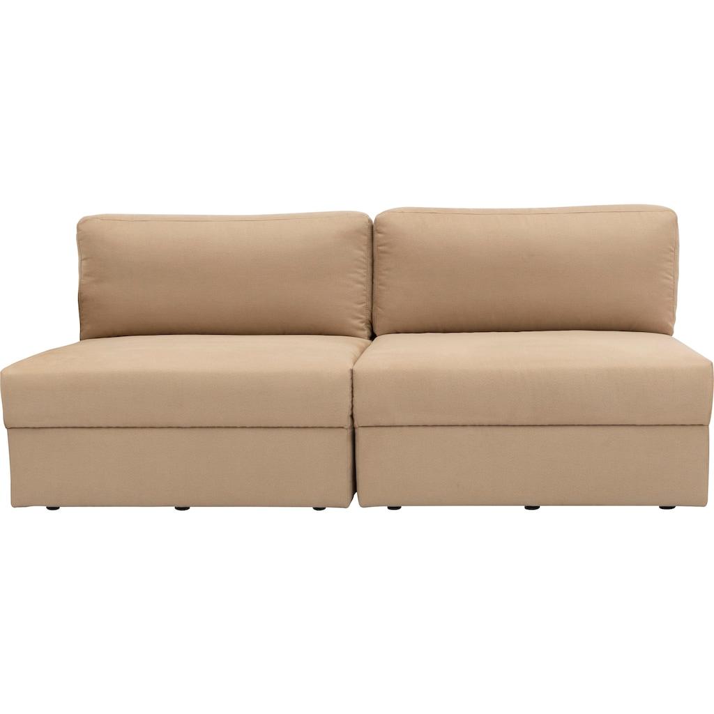 170QM Sofa »Familienzeit«, Modulsofa, Module auch einzeln, unendlich erweiterbar, flexibel stellbar