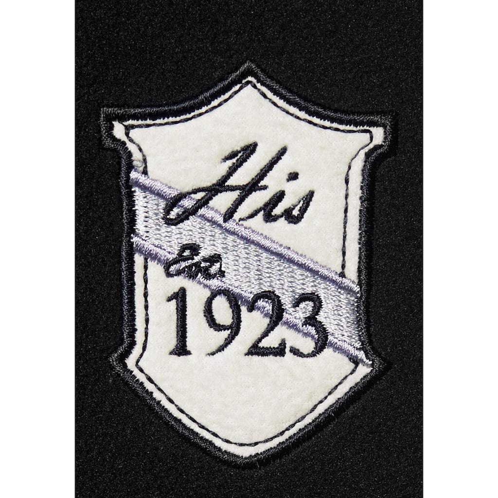 H.I.S Fleecejacke, auch in Großen Größen erhältlich