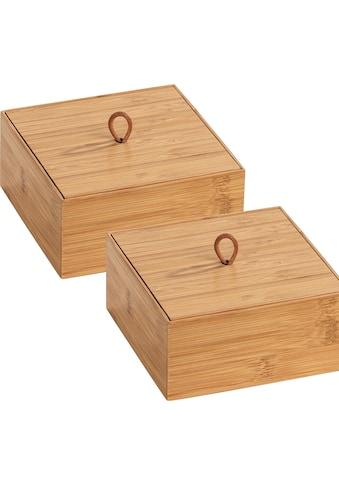 WENKO Aufbewahrungsbox »Terra«, (Set, 2 St.) kaufen