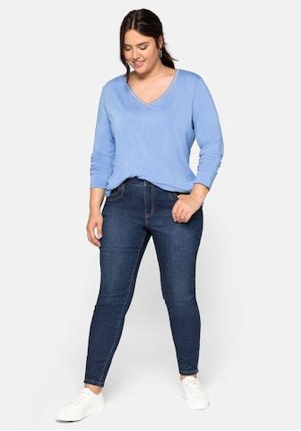 Sheego Stretch-Jeans, mit hohem Baumwollanteil kaufen