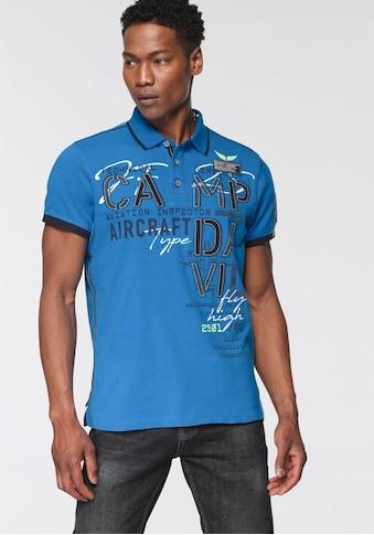 CAMP DAVID Poloshirt, mit Logoprint kaufen