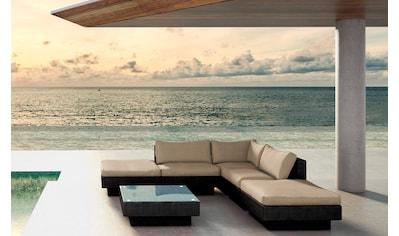 BAIDANI Loungeset »Sunqueen«, 12 - tlg., Ecksofa, Tisch, Alu/Polyester, inkl. Auflagen kaufen