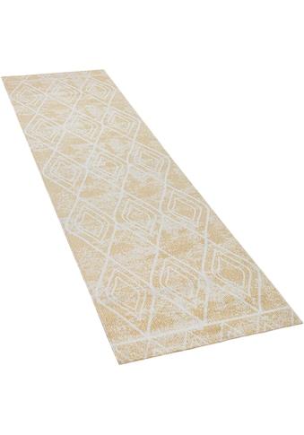 Paco Home Läufer »Artigo 427«, rechteckig, 4 mm Höhe, Teppich-Läufer, gewebt, Rauten... kaufen