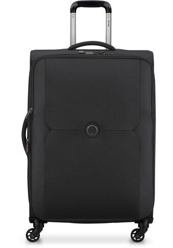 Delsey Weichgepäck-Trolley »Mercure, 68 cm, black«, 4 Rollen, mit Volumenerweiterung kaufen
