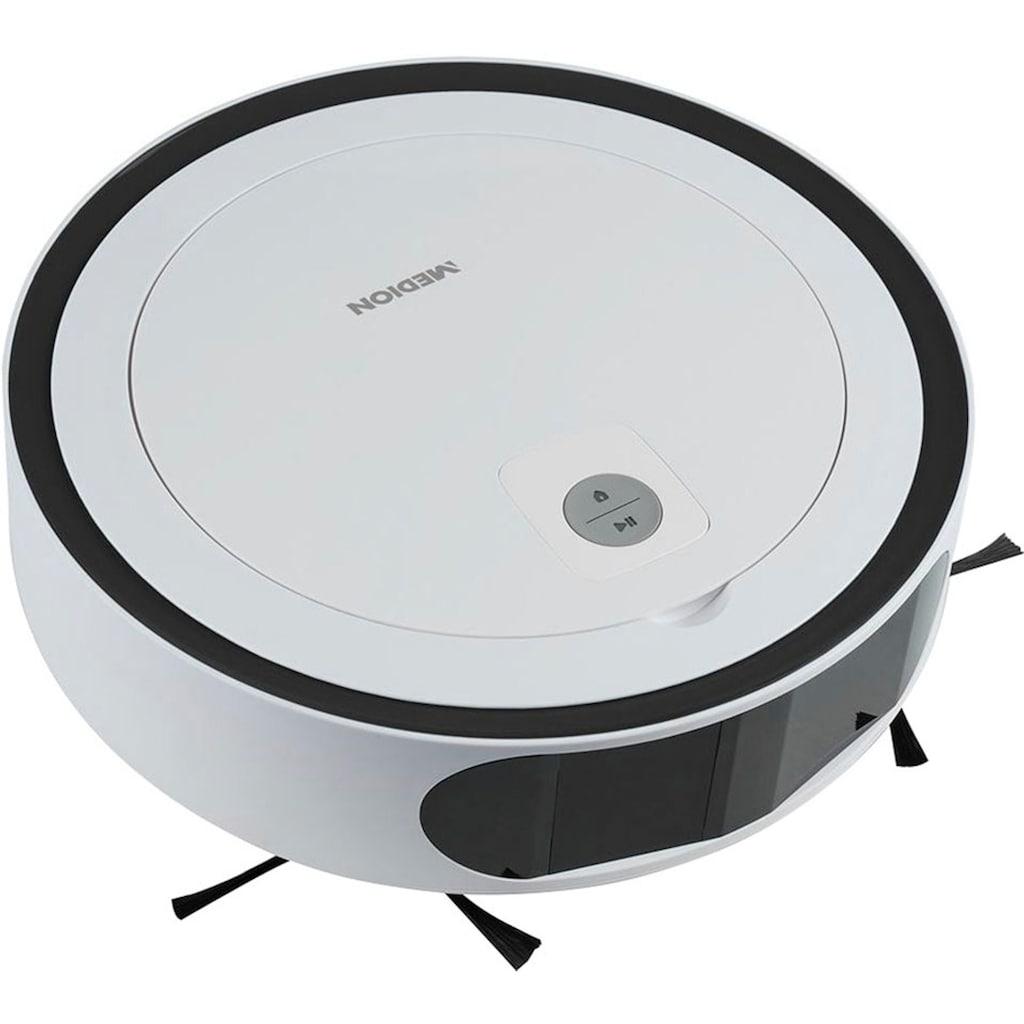 Medion® Saugroboter »mit Laserfunktion MD 18871«, bequeme App- oder Alexa-Steuerung + systematische Navigation