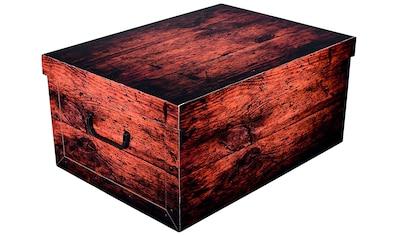 KREHER Aufbewahrungsbox »Dark Wood« kaufen