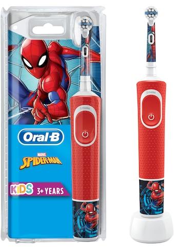 Oral B Elektrische Kinderzahnbürste Kids Spiderman, Aufsteckbürsten: 1 Stk. kaufen