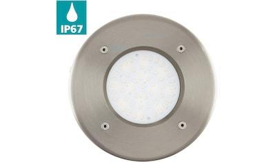 EGLO LED Einbauleuchte »LAMEDO«, LED-Board, Warmweiß, LED Bodeneinbauleuchte - Outdoor kaufen