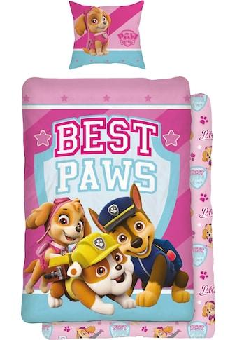 PAW PATROL Jugendbettwäsche »Best Paws«, mit Hunden kaufen