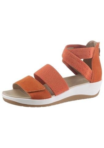 Ara Sandalette »NAPOLI«, mit Fersen-Reißverschluss, H-Weite kaufen