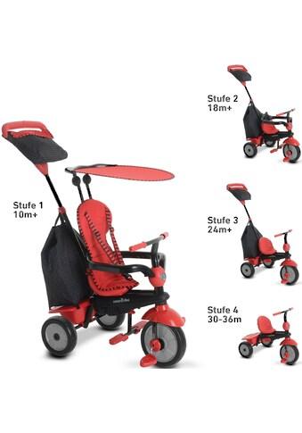 smarTrike® Dreirad »Glow, Rot«, mit Sonnenschutzdach kaufen