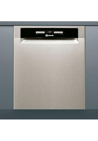 BAUKNECHT Unterbaugeschirrspüler »BUO 3O41 PLT X«, BUO 3O41 PLT X, 14 Maßgedecke kaufen