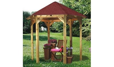 KARIBU Set: Holzpavillon »Lissabon«, BxT: 299x260 cm kaufen