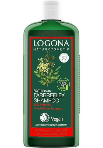 LOGONA Haarshampoo »Logona Farbreflex Shampoo Rot-Braun Henna« kaufen