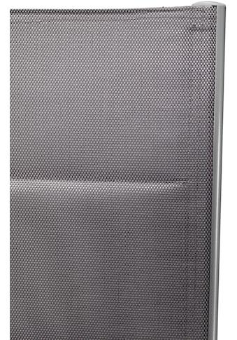 MERXX Gartenmöbelset »Taviano«, 7 - tlg., 6 Klappsessel, Tisch 150x90 cm, Alu/Textil kaufen