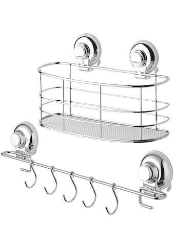 Badaccessoires - Sets »Aufbewahrung HOOKIE System® 2 - teilig«, mit Allzweckkorb und Allzweckleiste kaufen