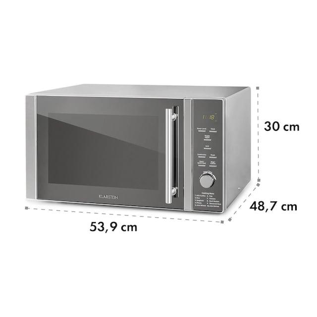 Klarstein 34L Mikrowelle, 1000 W, Grill: 1300 W »Luminance Prime«