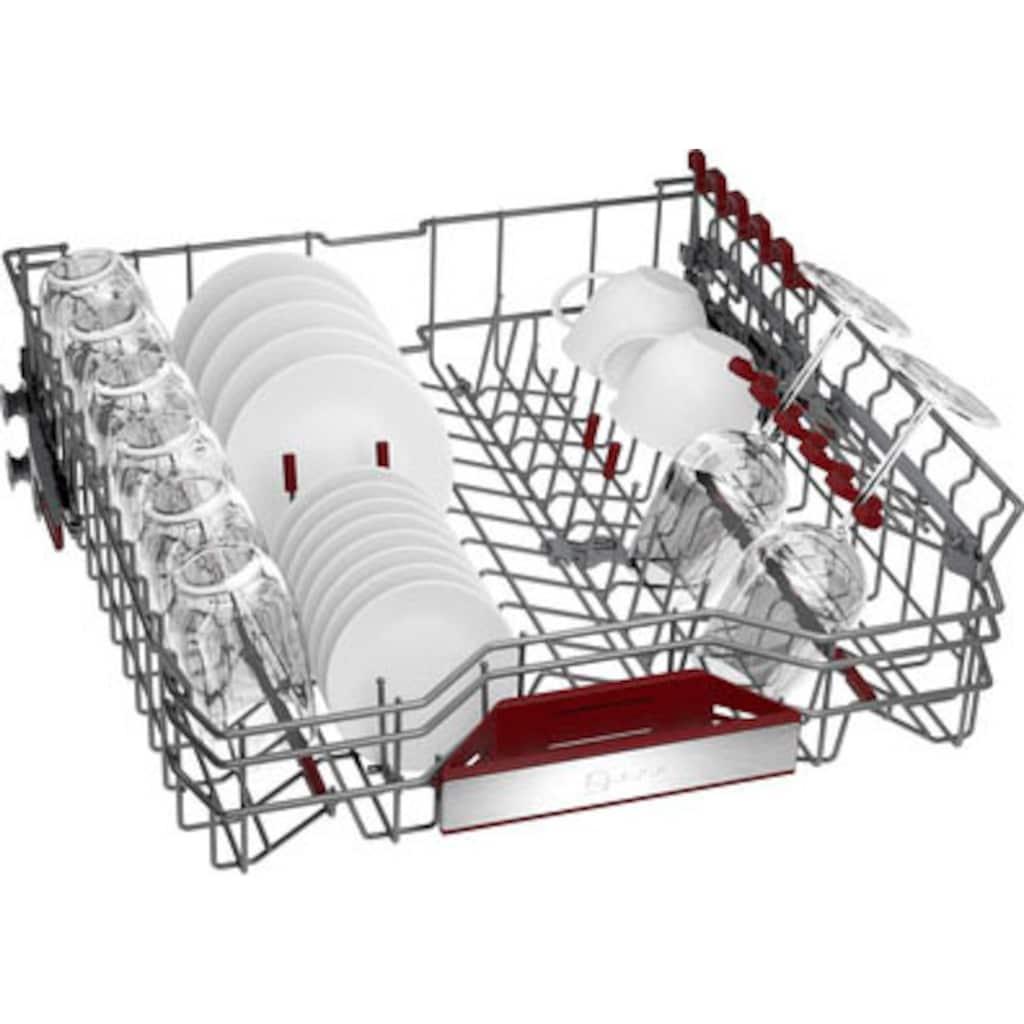 NEFF vollintegrierbarer Geschirrspüler »S157ZCX35E«, N 70, S157ZCX35E, 14 Maßgedecke
