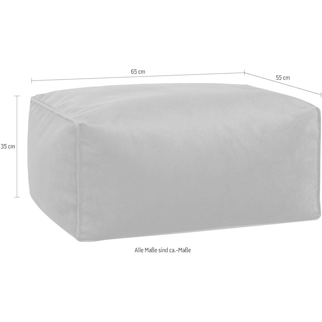 Sitting Point Sitzsack »Roll VELUTO«, Samt