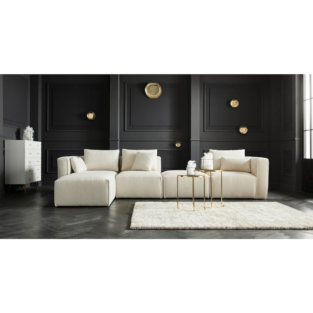 Guido Maria Kretschmer Home&Living Beistelltisch, (Set), aus Aluminium