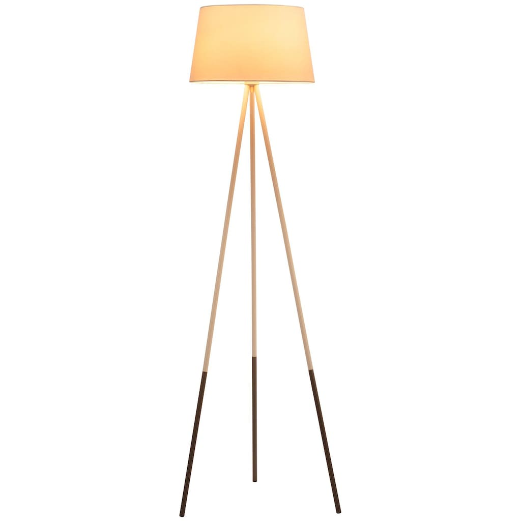 Pauleen Stehlampe »Grand Treasure«, E27, 1 St., Stoffschirm Weiß