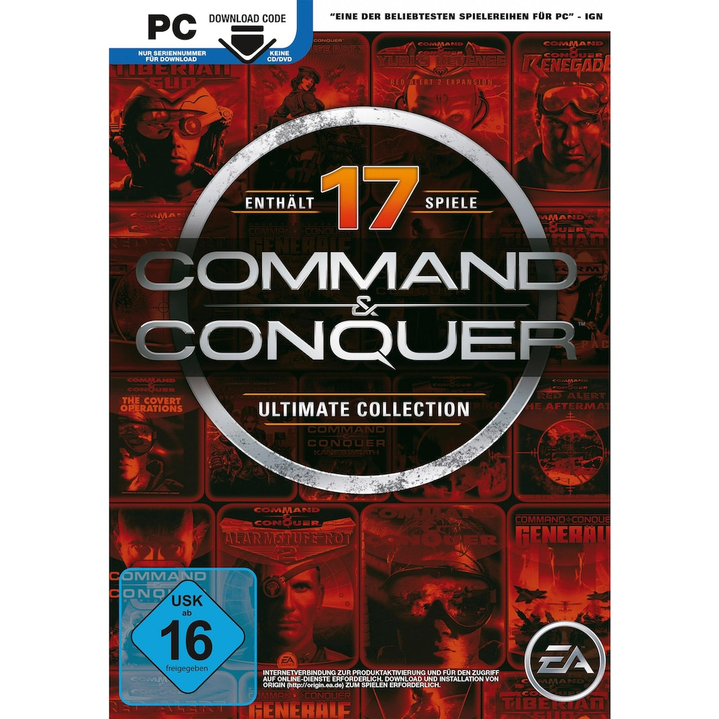 Electronic Arts Spiel »Command & Conquer: Ultimate Collection«, PC, Software Pyramide