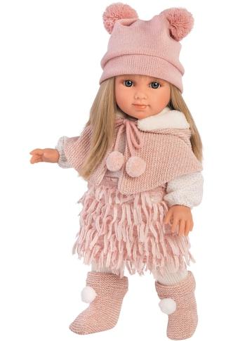 Babypuppe »Llorens, Elena blond, 35 cm«, Made in Europe kaufen