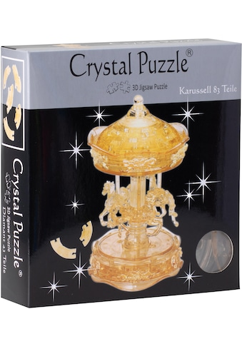 """HCM KINZEL 3D - Puzzle """"Crystal Puzzle, Karussel transparent"""" kaufen"""