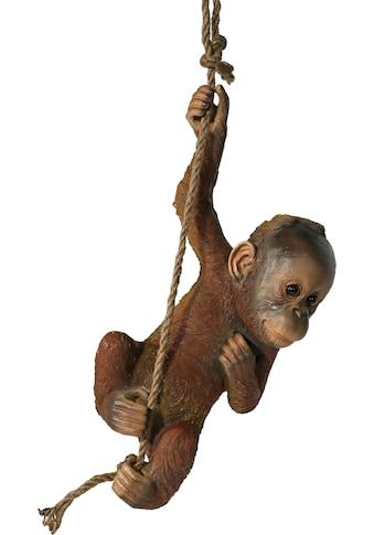 Home affaire Dekofigur »unger Orangutan am Seil hängend« kaufen