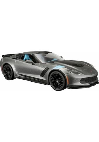 """Maisto® Spielzeug - Auto """"Chevrolet Corvette Grand Sport 17, 1:24, grau"""" kaufen"""