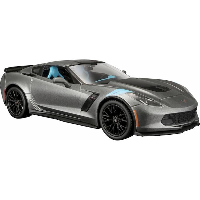 """Maisto® Spielzeug-Auto """"Chevrolet Corvette Grand Sport 17, 1:24, grau"""""""