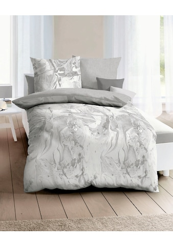 Kaeppel Wendebettwäsche »Carrara«, mit Aquarell-Print kaufen