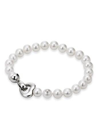 Adriana Perlenarmband »La mia perla, Herz, A1« kaufen