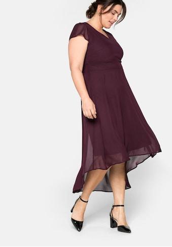 Sheego Abendkleid, mit Flügelärmeln kaufen