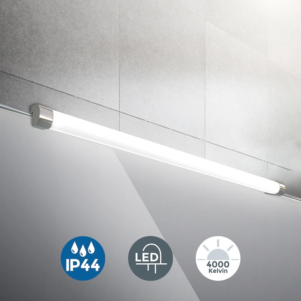 B.K.Licht Spiegelleuchte, LED-Board, Neutralweiß, LED Bad Wand-Leuchte Spiegel Badezimmer Aufsatz-Lampe 10Watt IP44 Schminklicht